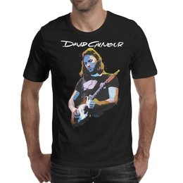 $enCountryForm.capitalKeyWord NZ - Men design printing David Gilmour Pink Floyd Guitar black t shirt printing funny cool superhero band shirts printed t shirt sport family