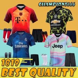 2019 EA Sports 4th SOCCER jerseys Adult kit real madrid Bayern Munich Man  united Modric 18 19 juventus RONALDO 18 19 POGBA Men jersey 1689822f4