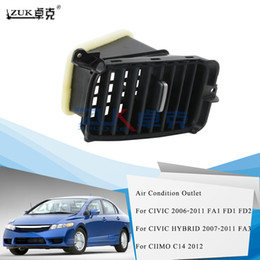 Wholesale civic for sale - Group buy ZUK Car Styling Driver Side AC Air Condition Air Vent Outlet For HONDA CIVIC FA1 FD1 FD2 Black
