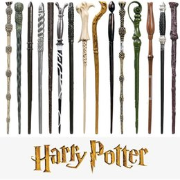 $enCountryForm.capitalKeyWord NZ - Harry Potter Magic Wand Halloween Cosplay Props Horwarts Resin Non-luminous Dumbledore Malfoy Hermione Magical Wand with Box HHA758