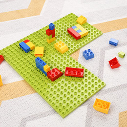 $enCountryForm.capitalKeyWord NZ - Large Particle And Small Bricks Base Plate Building Block Compatible Assembly Bricks Toys For Children