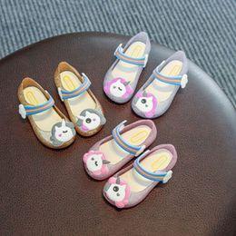Glow heels online shopping - Kids Unicorn Cartoon LED Sandals Melissa Luminous Flashing Fish Head Sandals Children Princess Glitter Glowing Slippers Shoes Hot A51303
