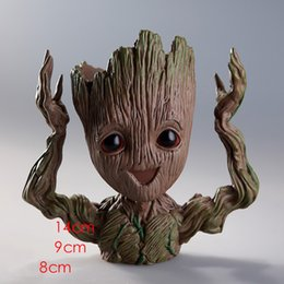 Plant Toys Australia - Baby Groot Flower Planter Pot Guardians of the Galaxy Garden Flower Plant Pot Cute Toy Groot Pen Pot Holder Doll Toy