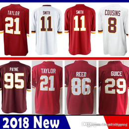 30a990ae5 Limited Washington 11 Alex Smith 29 Derrius Guice Redskins Jersey 21 Sean  Taylor 72 Eric Fisher 86 Reed Football Jerseys