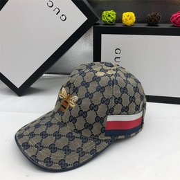 $enCountryForm.capitalKeyWord Australia - New Famous Design Ball Caps Brand Unisex Adjustable Fitted Golf Hats Fashion Mens Womens Outdoor Sports Cap Lovers Gifts with Box