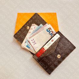 Leather ticket waLLet online shopping - ENVELOPPE CARTE DE VISITE M63801 Designer Fashion Men Coin Business Credit Card Ticket Holder Key Case Luxury Pocket Organizer Wallet N63338