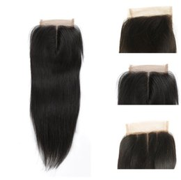 Brazilian Straight hair human hair bundles with lace Frontal Lace Frontal Closure body wave Virgin Hair 4x4 Frontal for black women fzp223 on Sale