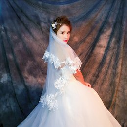 EmbroidErEd drEss matErial online shopping - high end bridal veil white ivory wedding dress accessories factory high quality thin mesh material