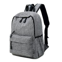 12 Inch Girl Backpack Australia - Datomarry 12 or 15 inch Grey sac a dos homme ,red male backpack,black bag backpack female girls, backpack for men