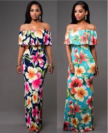d9aab1d5aab Long Casual Maxi Dresses Cheap Australia - Cheap Summer Maxi Floral Printed  Dresses Women Long Dresses