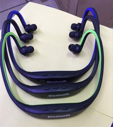 s9 sport neckband bluetooth headphone headset Australia - High Quality S9 Stereo Bluetooth earphone Sports headphone Wireless Neckband Earphone Bluetooth 4.1 Music Player For iPhone6 Plus Samsung
