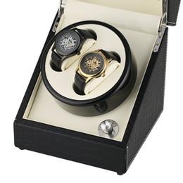 $enCountryForm.capitalKeyWord Australia - Premium Automatic Mechanical Two Modes Watch Winder Box Luxury US Plug Classic Leather Display Case Storage Wrist Watches Winding