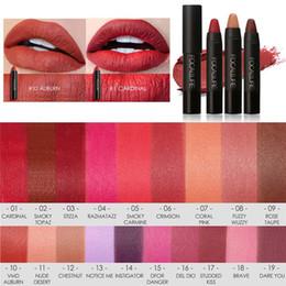 $enCountryForm.capitalKeyWord Australia - Focallure Women Matte Lipstick Pen Waterproof Long-lasting Cosmetic Nude Lady Lips Makeup Lipsticks QRD88