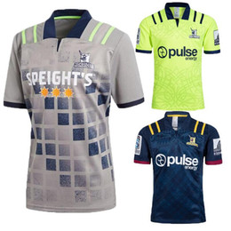 aff0d23e1 2018 2019 Highlanders Super Rugby Home Jersey New Zealand Super Highlanders  Hurricanes Jersey League Adults Mens euro Extra large size S-3X