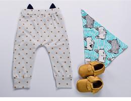 $enCountryForm.capitalKeyWord NZ - Baby pants Cartoon leggings kids baby PP pants Haren pants Three dimensional fox shaped trousers 8 P L