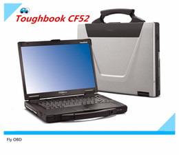Dodge Camera Australia - Free shipping For Panasonic CF-52 Military Toughbook Laptop CF52 Diagnosis Laptop can work for bmw icom a2 and mb star c3 c4 c5