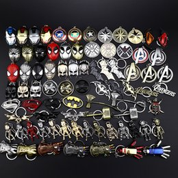 $enCountryForm.capitalKeyWord NZ - Marvel Avenger Action hero Keychain Key Ring Anime Key Chain Fashion cool Hangings Accessories Kawaii Party Favors Kid Gift 480