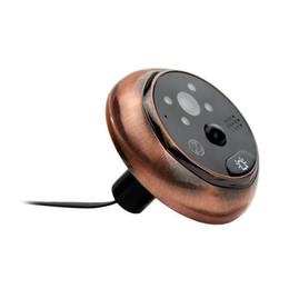 Danmini YB-43HD-MT Digital Peephole Viewer Camera 2MP 4.3 inch IR Night Vision Video PIR Door Bell on Sale