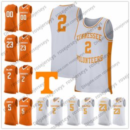 Custom Tennessee Volunteers College Basketball orange white Any Name Number  2 Grant Williams 5 Admiral Schofield 10 John Fulkerson Jerseys d19752d33