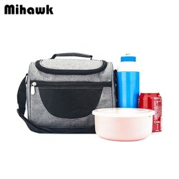 Thermal Supplies Australia - Mihawk Thermo Insulated Lunch Bags Women Men Thermal Travel Picnic Bento Cooler Tote Fresh Organizer Pouch Supply Accessory