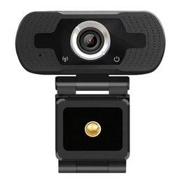 Webcam USB HD 1080P pour ordinateur portable Auto Focus Auto Focus 2MP Appel vidéo haut de gamme webcams caméra avec microphone de réduction de bruit en Solde