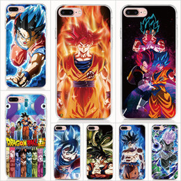 Tpu Print Australia - For iPhone XS Max case Hard PC and soft TPU High quality print pictures DRAGON Ball Z back cover Phone cases 10pcs lot