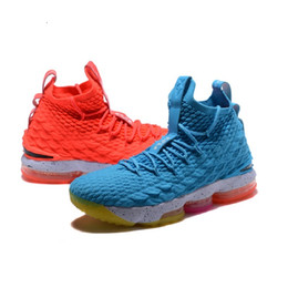 flower shoes kids NZ - what the lebrons 15 XV mens basketball shoes for sale flowers MVP Christmas BHM Oreo youth kids Generation sneakers boots with size 7-12
