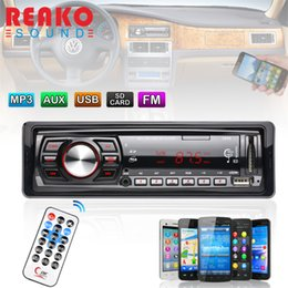Usb Input Receiver NZ - Freeshipping In-Dash FM Car Input Receiver Stereo 50W x 4 LCD Display SD USB MP3 WMA Radio Player