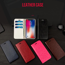 Iphon cases online shopping - High Quality Brown PU Mobile phone Case Cover Leather Cellphone Cases For Iphon X Only