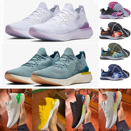 Vintage fabrics for online shopping - 2019 Epic React v2 Presto Sneakers For Men Women Vintage Black White Odyssey fly Brutal Honey Sports Trainer platform designer Running Shoes