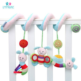 $enCountryForm.capitalKeyWord Australia - Baby Bed Pacify Winding Toys Music Sounds Bee Insect Baby Infant Bed Around Ring Bells Cartoon Plush Toys Bedding Sets