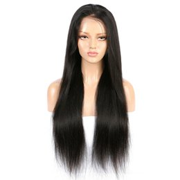 China Non-human hair, non-full lace wigs Pre Plucked Glueles Wigs With Remy Straight Wigs For Women Cheap quality from black women cheap remy straight hair for cheap suppliers