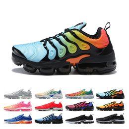 Cheap work shoes online shopping - Cheap Plus Men Women Running Shoes Bumblebee Triple Black White Sunset Work Blue Game Royal Volt Designer Sports Sneakers Online Sale