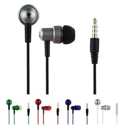 Cloth Wired Earphone Australia - Braided Wire Sub-woofer Earphone Headset Braided Rope Wire Cloth Rope In-ear Earplug Earphones for Mobile phone Mp3 Mp4 player