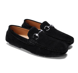 $enCountryForm.capitalKeyWord UK - New Musk deer leather shoes,men's leather casual shoes,fashion trend soft bottom casual wedding shoes,mens moccasins,Big yards+ LOGO G2.65