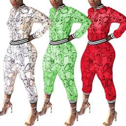 $enCountryForm.capitalKeyWord Australia - Womens sportswear jacket tracksuit two piece set jogging sport suit sweatshirt tights sport suit women tops pants suit klw0786