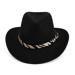 833309ff66edbf Fashion Vintage Women Men Wide Brim Warm Wool Felt Hat Bowler Trilby Fedora  Cap Cowboy Hats Unisex Panama Jazz Caps Sombrero