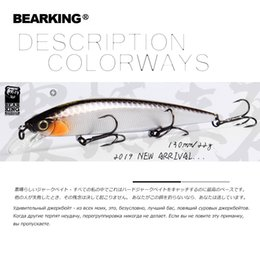 Fishing Lures 22g Australia - 2 pcsBearking 2019 Hot Fishing Lures, Assorted Colors, Minnow 130mm 22g,tungsten Weight System Wobbler Model Crank Bait C19041201