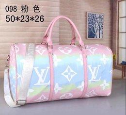 Ingrosso 2020 nuovi designer luxurys borse della borsa in vera pelle di alta qualità dei fiori modello dei bagagli di viaggio da viaggio trasporto libero