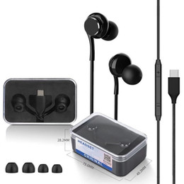 ear packs Australia - newest type c In-Ear OEM high Quality Earphone Headphones Earbuds For smart phone with crystal retail Packing