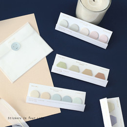 Stationery Australia - 32 Pcs Lot Decorative Color Sticky Notes Nature Colored Memo Pad Post Sticker Marker It Stationery Office School Supplies