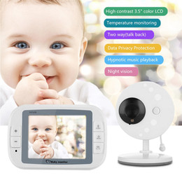 Chinese  Hoomall Wireless Video Baby Monitor Night Vision Camera Video 3.5inch LCD Sreen Baby Sleep Monitor Care Nanny Security manufacturers