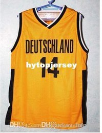 $enCountryForm.capitalKeyWord Australia - Factory Outle Dirk Nowitzki 14 TEAM DEUTSCHLAND GERMANY Basketball Jersey black Gold Top Stitched Jerseys Customized Any Name And Numb NCAA