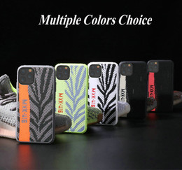 cloth iphone Australia - Fashion Gadget Cloth Woven Soft TPU Bumper Phone Case Shockproof Cover For iPhone 11 Pro Max XR XS MAX 6 7 8 Plus