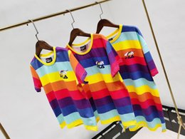 material cotton Canada - kids t-shirt 2020 designer new style cotton material comfortable breathable children's short sleeves T0WC