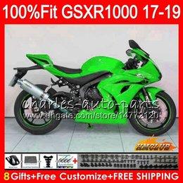 $enCountryForm.capitalKeyWord Australia - Injection For SUZUKI GSX-R1000 L7 L8 GSXR 1000 2017 2018 2019 17HC.48 GSX R1000 K17 GSXR-1000 GSXR1000 17 18 19 Fairings kit glossy green