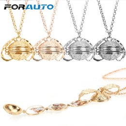 $enCountryForm.capitalKeyWord Australia - FORAUTO Car Ornaments Car Mirror Hanging Album Box 8 Photo Pendant 2019 Vintage Angel Wings Magic Necklace Pendant Car-styling