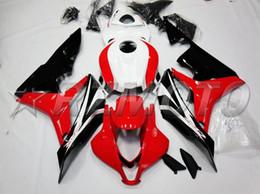 Honda F5 Australia - 3gifts New Injection Mold Motorcycle ABS Full Fairings kit Fit for HONDA CBR600RR F5 2007 2008 07 08 600RR CBR600 custom white red