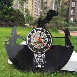$enCountryForm.capitalKeyWord Australia - Final Fantasy 7 Adventure Anime PS PC Games Vinyl Record Wall Clock Home Decor Handmade Art Personality Gift (Size: 12 inches, Color: Black