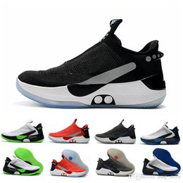 Discount mag future - 2019 New Adapt BB Black White Pure Platinum Air Mag Basketball Shoes mags Mens Back to future Sports Trainers Sneakers C